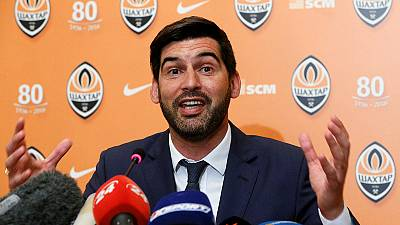 Fonseca presented as new Shakhtar Donetsk coach