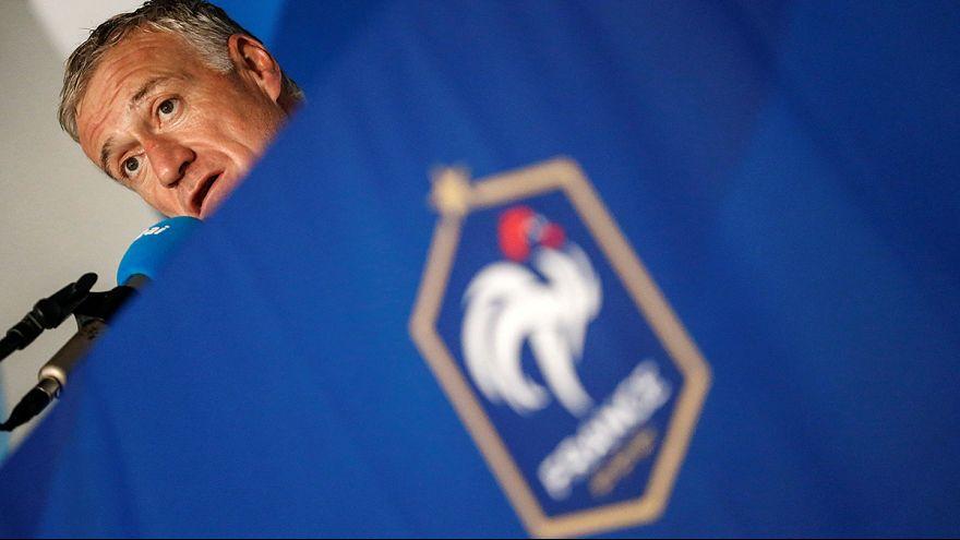 Сборная Франции готовится к ЕВРО-2016 в австрийских Альпах