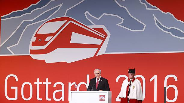 World's longest and deepest train tunnel opens in Switzerland