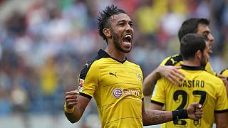 Aubameyang voted best player in Bundesliga