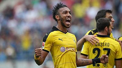 Aubameyang voted best player in Bundesliga