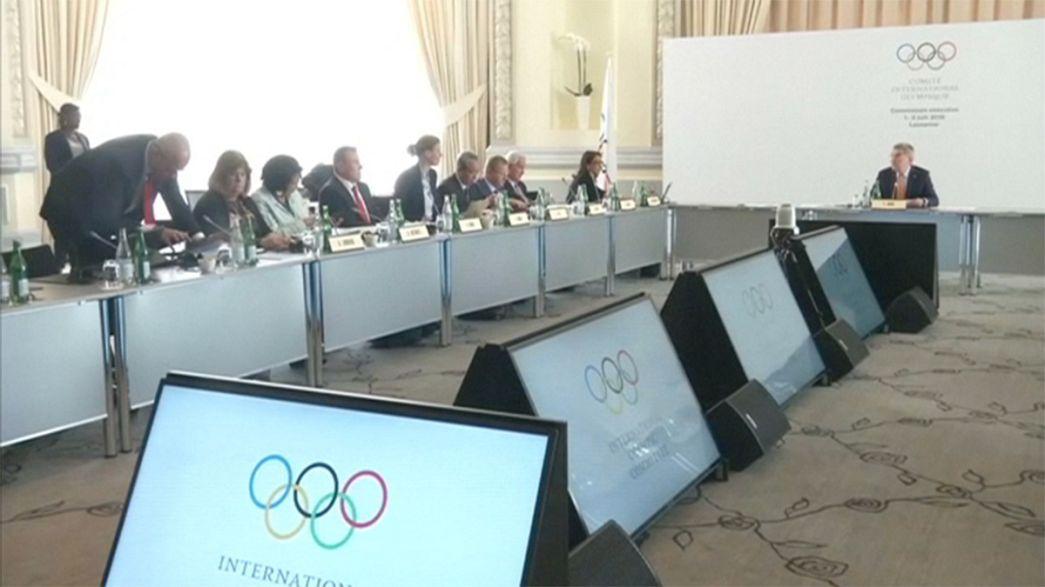 Заседание МОК в швейцарской Лозанне