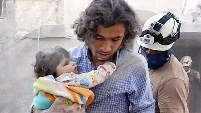 Hilfskonvoi erreicht eingeschlossenen damaszener Vorort Daraja