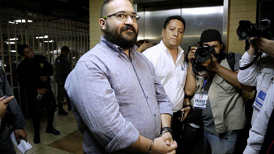 Duarte de Ochoa, former governor of Mexican state Veracruz, during extradit