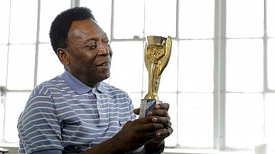 Football legend Pele auctioning awards and memorabilia