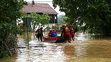 La lluvia sigue sin dar tregua al sur de Alemania