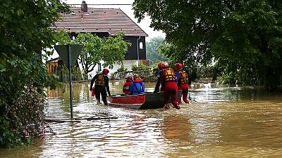 Deadly floods in Bavaria, Germany
