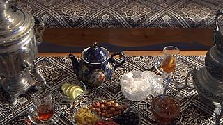 کارت پستال از جمهوری آذربایجان؛ سنت نوشیدن چای