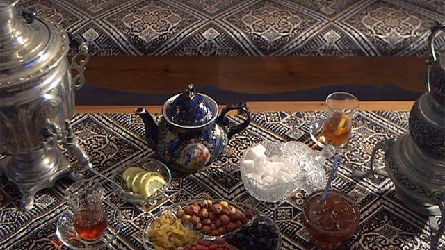 بوست كارد: الشاي في أذربيجان خير جليس على مدار اليوم