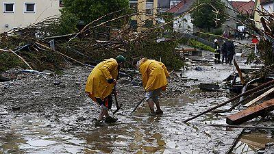 Schwere Überschwemmungen in Europa: Mindestens vier Tote in Niederbayern, ein Todesopfer in Frankreich