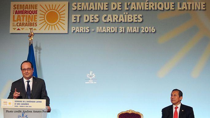 """""""Francia también es un país de América Latina"""", François Hollande"""