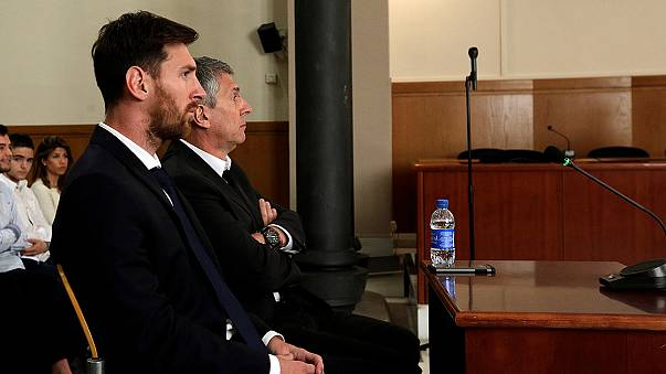 Messi arrives at court to give evidence in tax evasion case