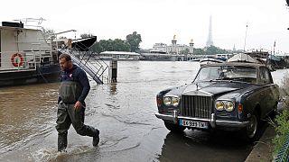 Paris debaixo de água
