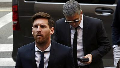 Lionel Messi a comparu pour fraude fiscale