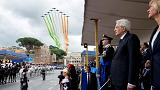 Rome parade celebrates 70 years of Italian democracy