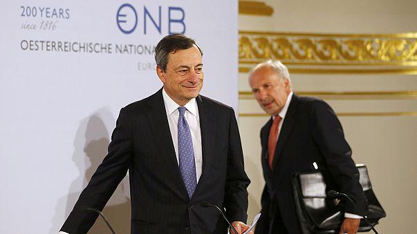 ЕЦБ оценил рост и риски еврозоны