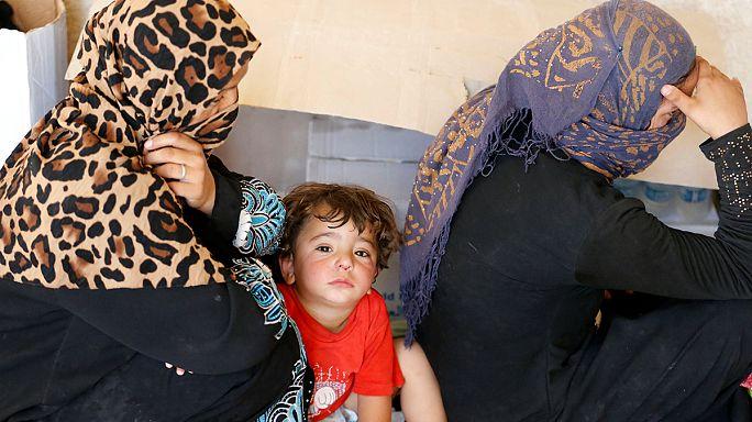 Felluce'de siviller çatışmaların kurbanı