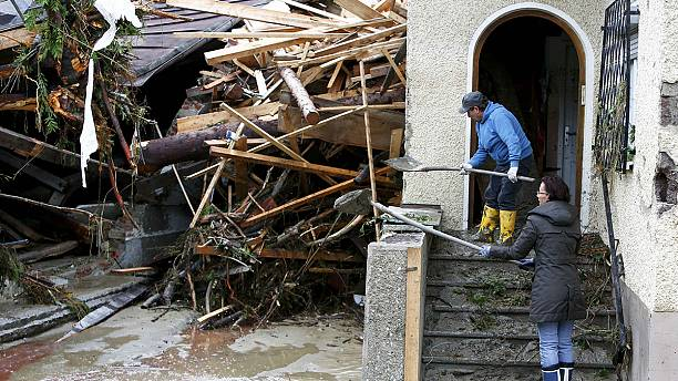 Rising floodwaters in Germany and France claim more lives