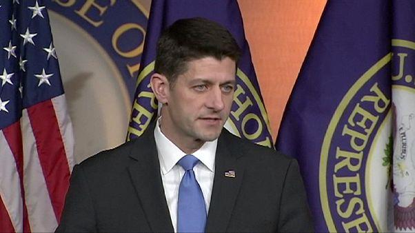 EUA:Paul Ryan, Presidente da Câmara de Representantes, apoia Donald Trump