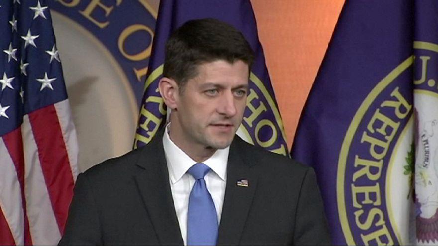 Etats-Unis : Paul Ryan soutient Donald Trump