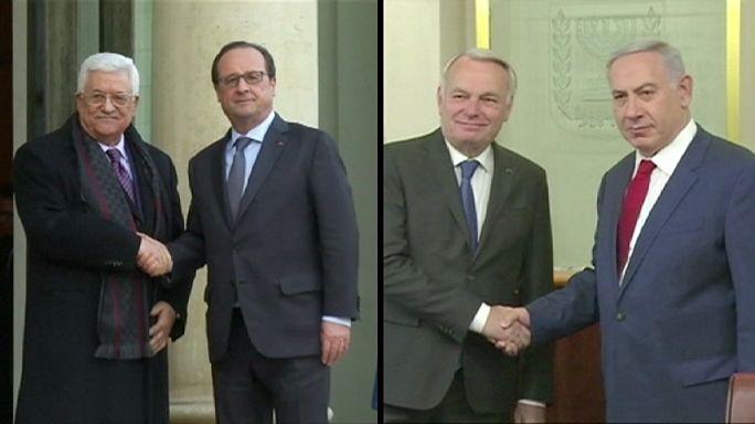 Палестино-израильский конфликт: конференция в Париже