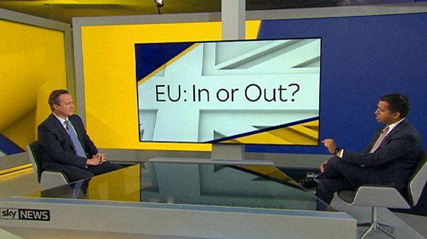 ديفيد كامرون يدعو في مناظرة تلفزيونية إلى عدم المغامرة بالخروج من الاتحاد الأوروبي