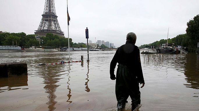 Небывалые наводнения во Франции и в Германии