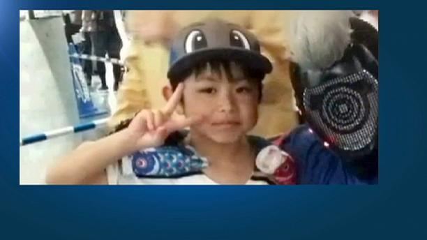 Missing Japanese boy found alive and well