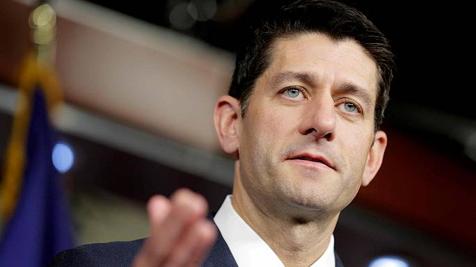 US Speaker of the House Paul Ryan backs Donald Trump as presidential candidate