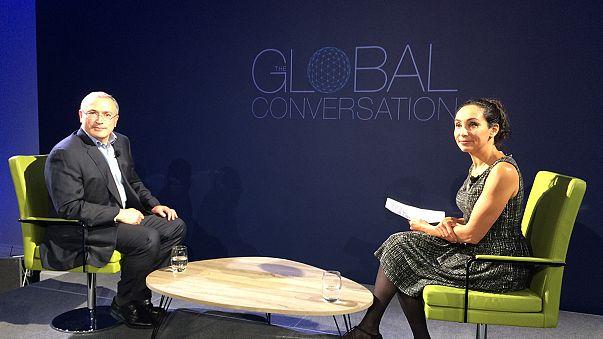 No rest until revolution – euronews speaks to Mikhail Khodorkovsky
