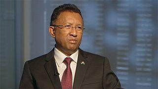 """""""Madagáscar não são apenas as minas"""" - Hery Rajaonarimampianina"""