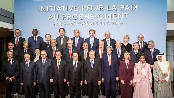 Israelis and Palestinians skip Paris peace talks