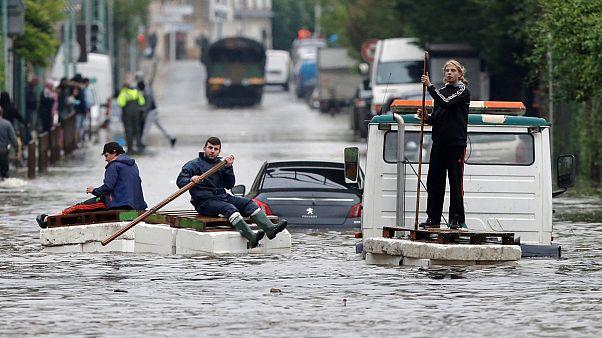 Lluvias torrenciales e inundaciones en Francia y Alemania