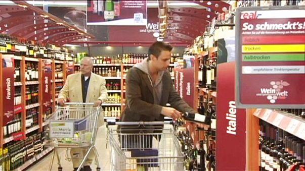 Einzelhandel in der Eurozone stagniert