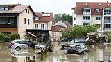 En Europe, les inondations ont causé la mort d'au moins quinze personnes