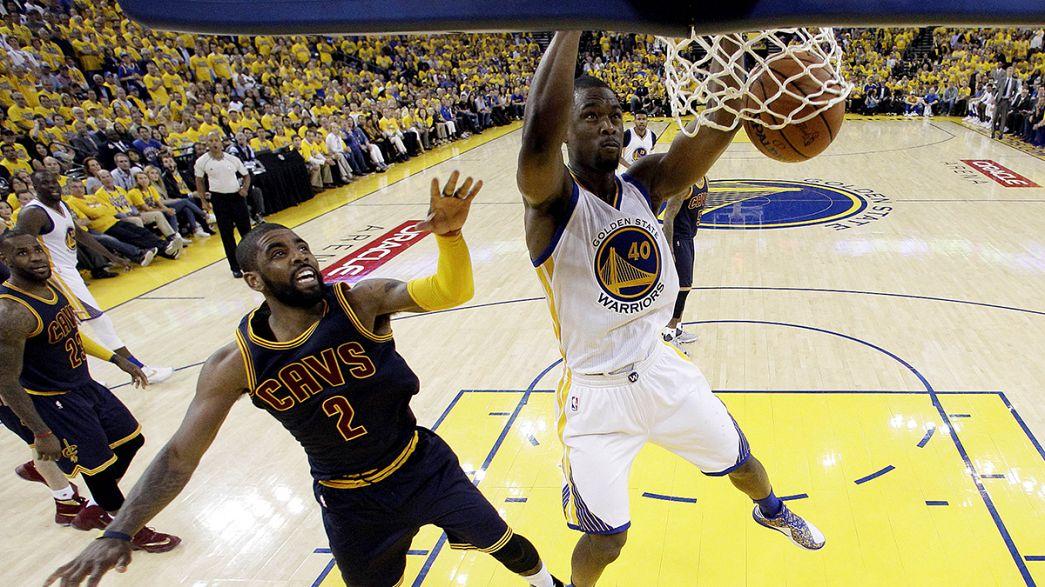 NBA'da şampiyonluğa ilk adım Golden State'ten
