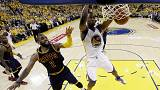 Warriors win game one of NBA finals rematch against Cleveland