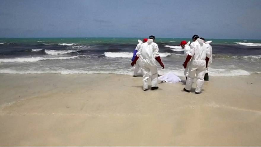 Migrants in the Med: Over 100 more bodies wash up on Libyan coast