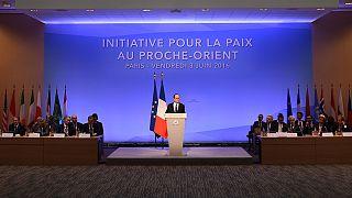 Cimeira de Paris apoia solução árabe para a paz no Médio Oriente