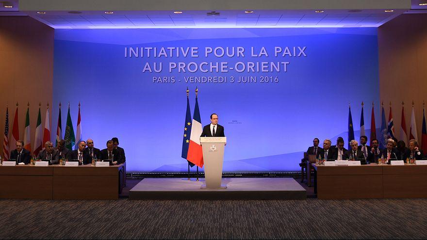 Concluye en París una reunión internacional para intentar relanzar el proceso en Oriente Próximo