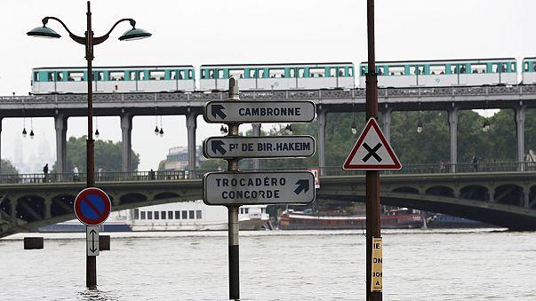 فرنسا: مياه الفيضانات تغمر باريس