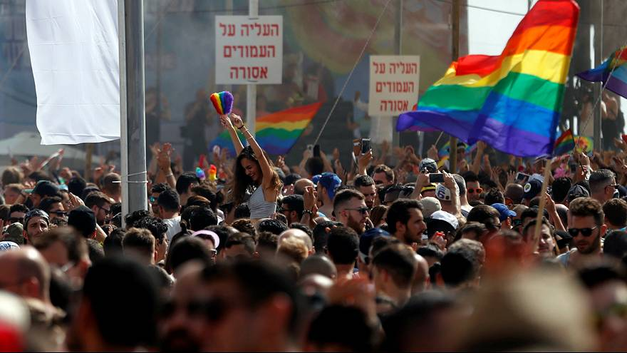 """Accusations de """"pinkwashing"""" autour de la Gay Pride de Tel Aviv"""