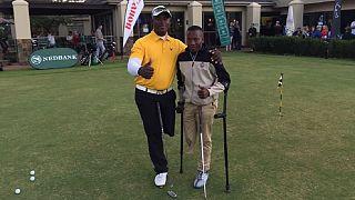 Afrique du Sud : le golf, la passion d'un adolescent vivant avec un handicap