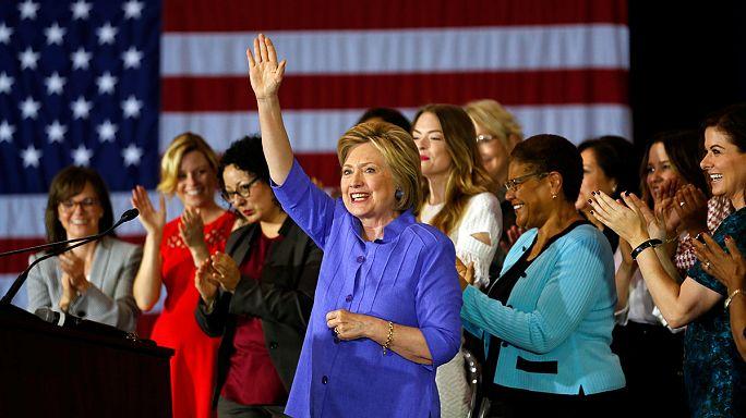 Clinton 11 százalékponttal Trump előtt