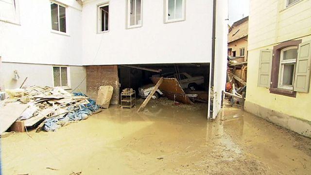 مقتل 15 شخصا على الأقل في عواصف مطرية وفيضانات في أوروبا