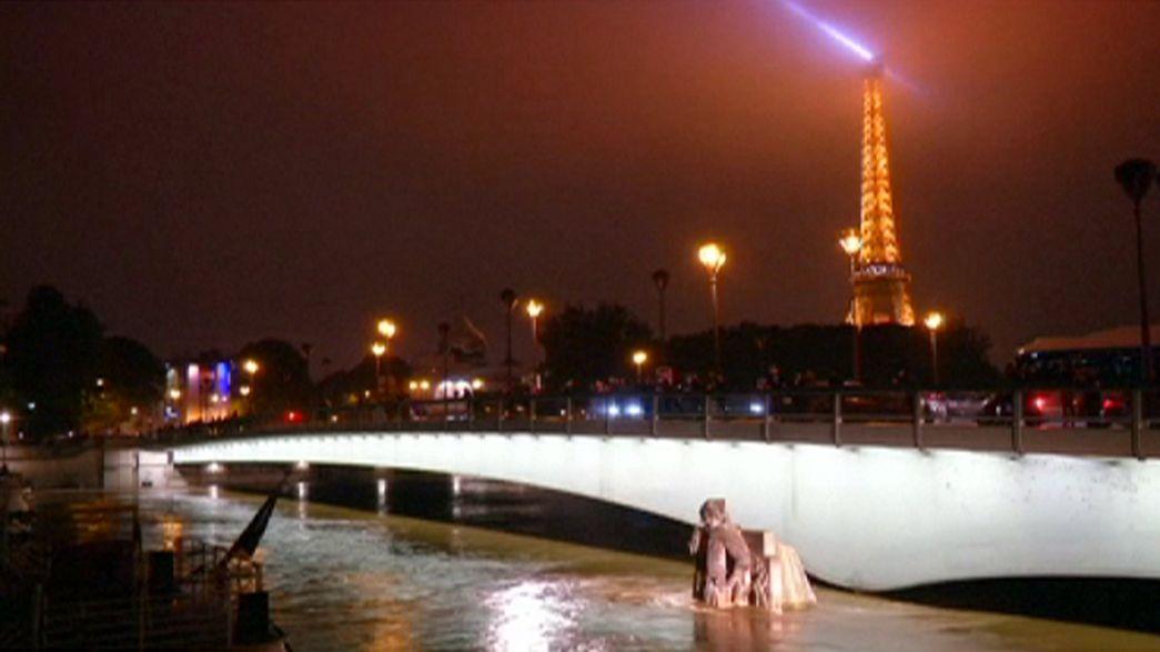 Fransa: Seine Nehri son 30 yılın en yüksek seviyesine ulaştı