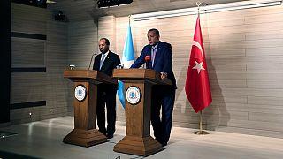 Erdogan opens largest Turkish embassy during visit to Somalia