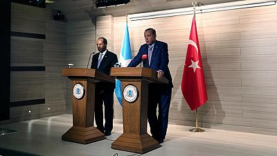 Erdogan opens largest Turkish embassy during visit to Somalia