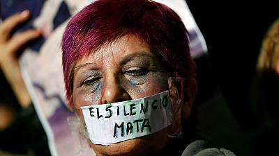 Protests in Argentina against the murder and rape of women