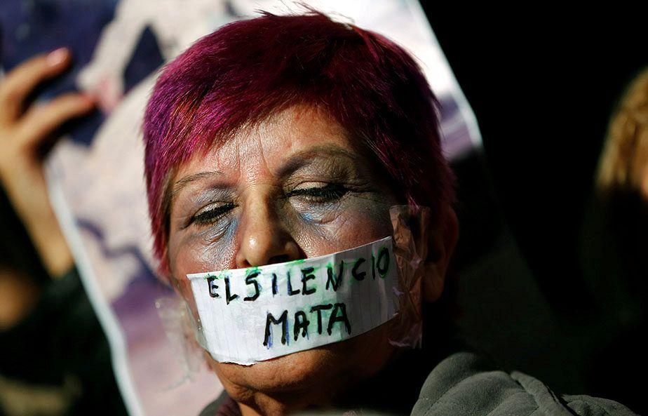 Manifestation en Argentine contre les violences faites aux femmes